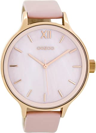 Oozoo Women s Digital Quartz Watch with Leather Bracelet - C8602   Amazon.co.uk  Watches 871192ae3d5