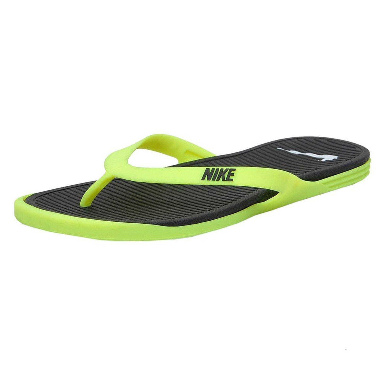 premium selection 85bf4 440c7 Nike Matira Thong Black - UK 6: Buy Online at Low Prices in ...