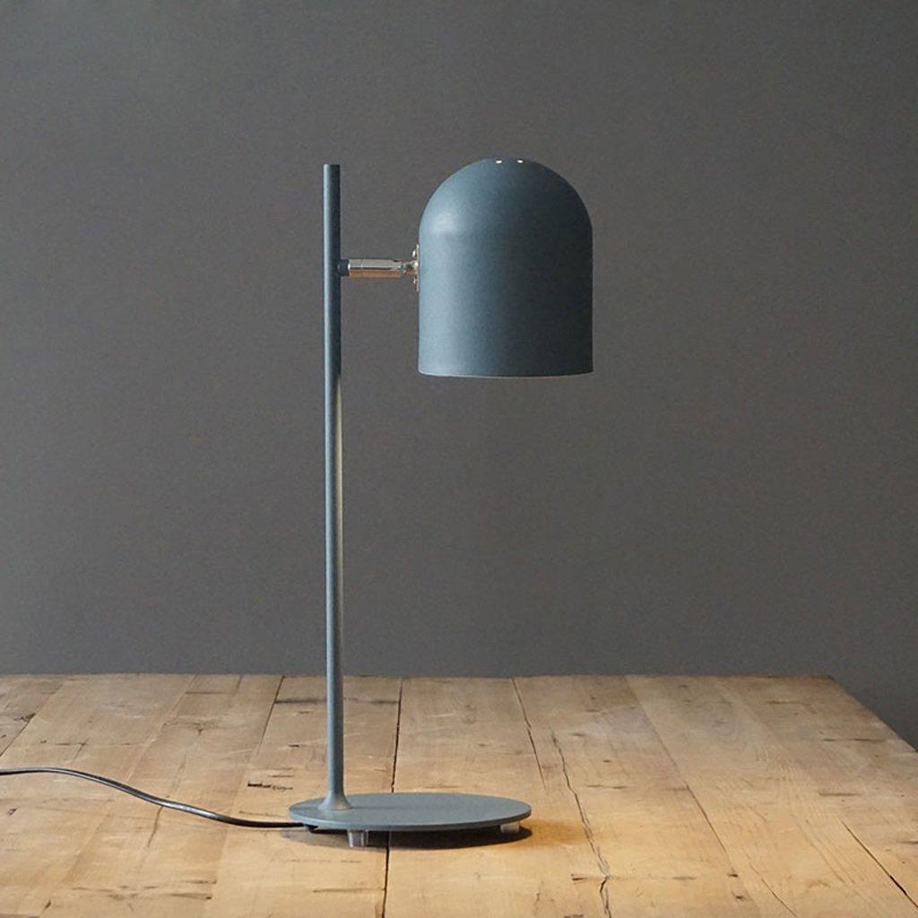 NYDZ Lernen Schreibtischlampe, Designer Tischlampe, Leseleuchten, Arbeitszimmerlampe, Arbeitslampe, Bürolampe, Nachttisch Nachttischlampe (Farbe : Blau) Bürolampe NYDZ shop