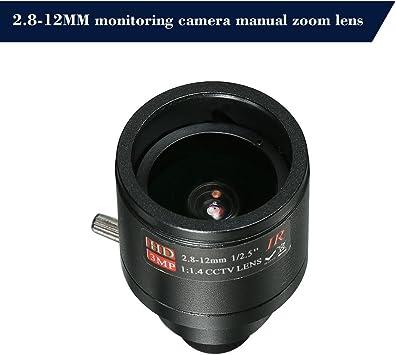 No IR Filter F1.4 Fixed Iris Lens M12 HD 2.8-12mm 3 Megapixel F1.4 ...