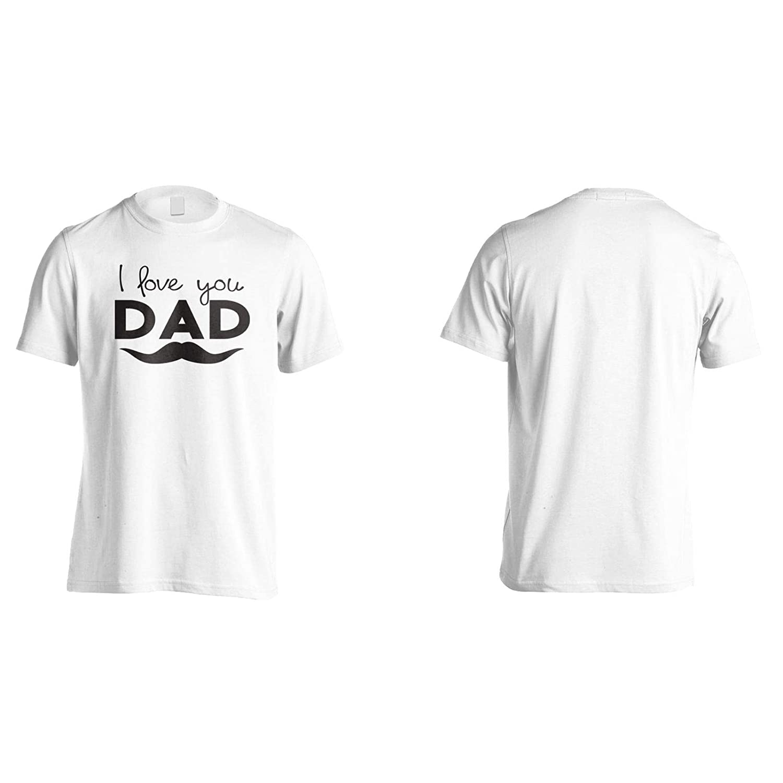 I Love You dad Mens T-Shirt Tee gg891m