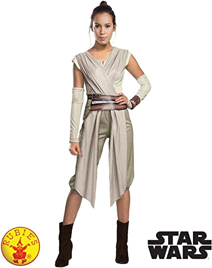 Star Wars T Shirt The Force Awakens Rey Sub Dye Official Womens White Skinny Fit