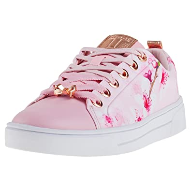 Ted Baker Kelleit Femmes Baskets Floral rose - 7 UK tkdQhA5Vy