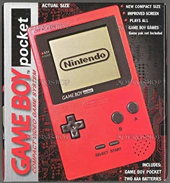 Game Boy Pocket Red: game boy: Computer and Video Games - Amazon ca