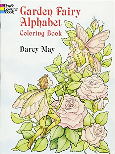 buy garden fairy alphabet coloring book dover coloring books book online at low prices in india garden fairy alphabet coloring book dover coloring - Dover Coloring Book