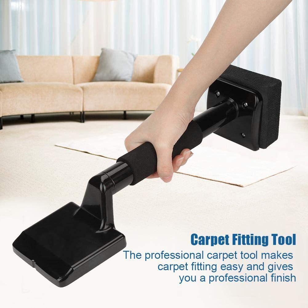 Non-Adjustable Carpet Flatten Installation Fitting Gripper Knee Stretcher Laying Tool for Home Improvement Worker Yosoo Light Duty Carpet Installer Kit