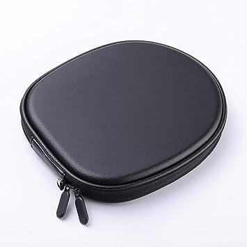 Ioouooi Estuche para audífonos EVA Estuche rígido con protección para el Auricular con Bluetooth en el Cuello Lona para Sony WI-H700 / 1000X Negro (Color : Negro): Amazon.es: Electrónica