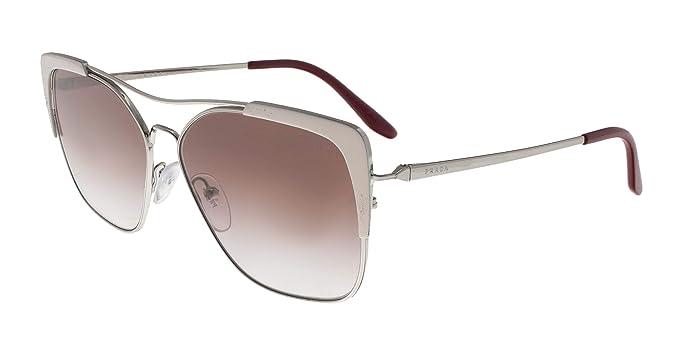 Prada 0PR 54VS Gafas de sol, Silver/Ivory, 57 para Mujer ...