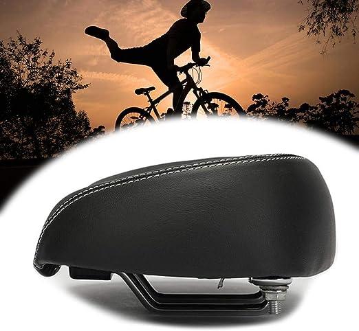 Comfort Super Elastic Bicycle Bike MTB Saddle Wide Big Seat Pad Cushion 26*17cm
