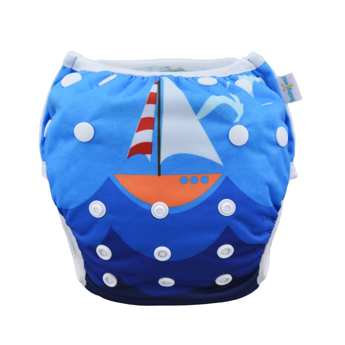 Baby Shower Gift /& Swimming Lessons babygoal Baby Reusable Swim Diaper Washable and Adjustable for Babies 0-2 Years