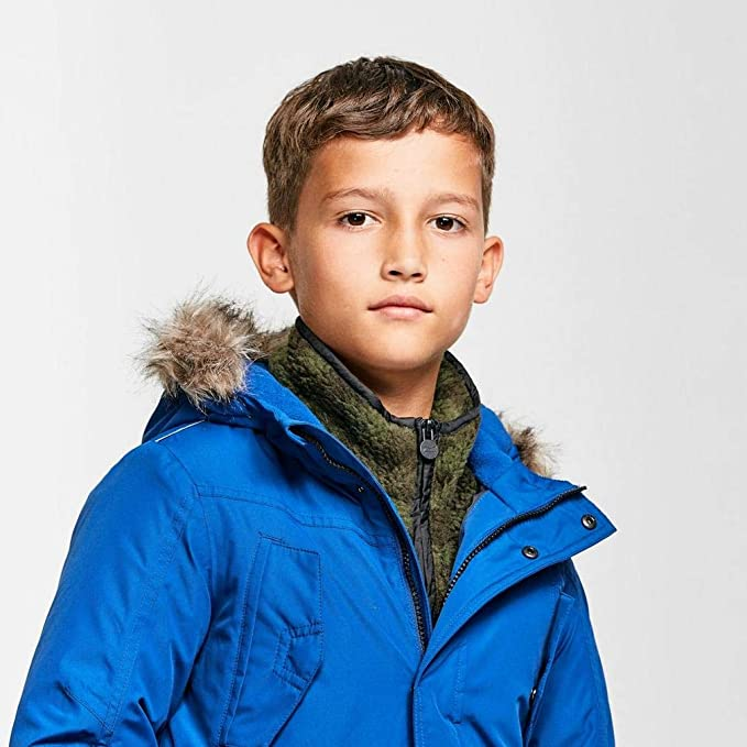 Regatta Pazel Waterproof Breathable Taped Seams Insulated Lined Hooded Parka Chaqueta Unisex ni/ños