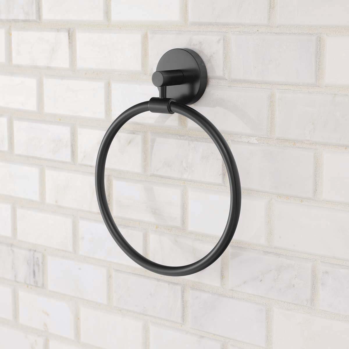 Speakman SA-2004-MB Neo Towel Ring, Matte Black by Speakman (Image #4)