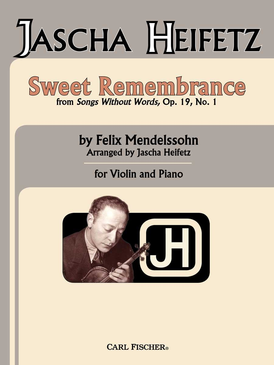 Sweet Remembrance From Songs Without Words, Op. 19, No. 1 ebook