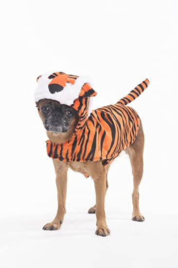 fashion pet halloween tiger costume for dogs xsmall
