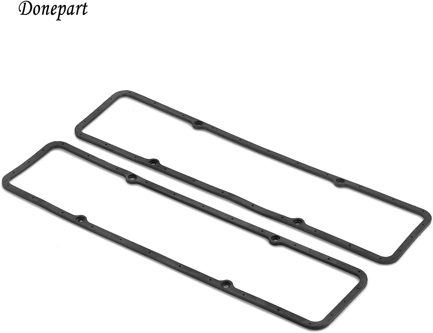 For SBC Small Block Chevy Steel Rubber Valve Cover Gaskets 7484BOX