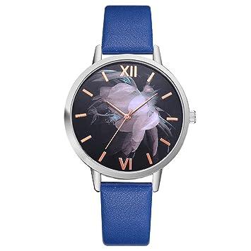 LouiseEvel215 Moda Joven Hombre Mujer Niño Niña Reloj Banda de ...