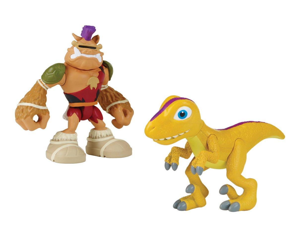 Las Tortugas Ninja Semi-Carcasa Héroes Dino Bebop y Raptor ...