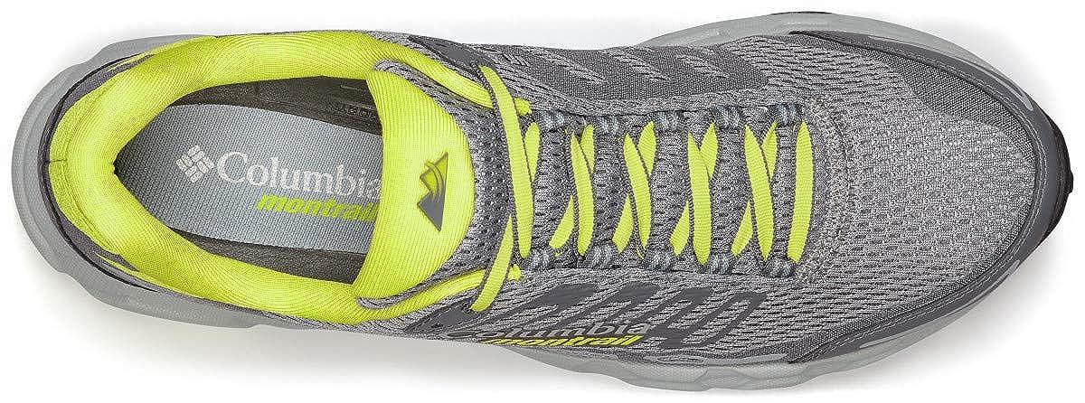 Columbia Bajada III Gris 46 EU Zapatillas de Running para Asfalto para Hombre Monument, Zour 36