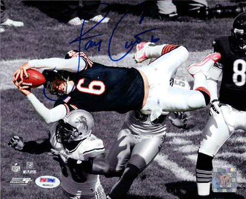 Jay Cutler Signed 8x10 Photograph Chicago Bears - Certified Genuine Autograph By PSA/DNA - Autographed Football Photograph