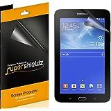 [3-PACK] Supershieldz for Samsung Galaxy Tab E Lite 7.0 / Tab 3 Lite 7.0 Screen Protector, Anti-Bubble High Definition Clear Shield -