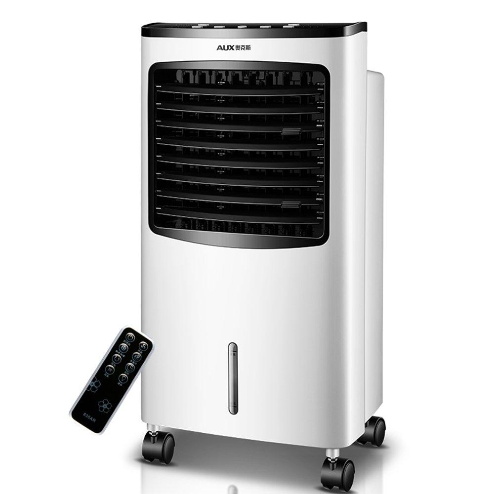 ZHIRONG ポータブル冷却ファン空調ファンリモートコントロール7.5Hタイマー3スピード3風モードホワイト75W   B07FF44DFM