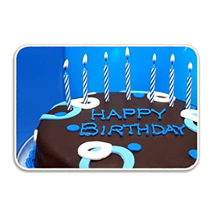 Amazon LemeFix Happy Birthday Cake Candles Non Slip Mat Entry