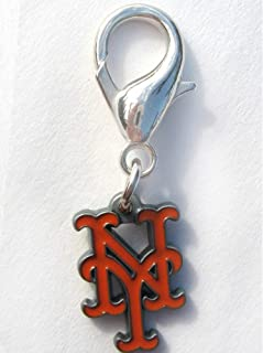 product image for Diva-Dog MLB Baseball 'New York Mets' Licensed Team Dog Collar Charm