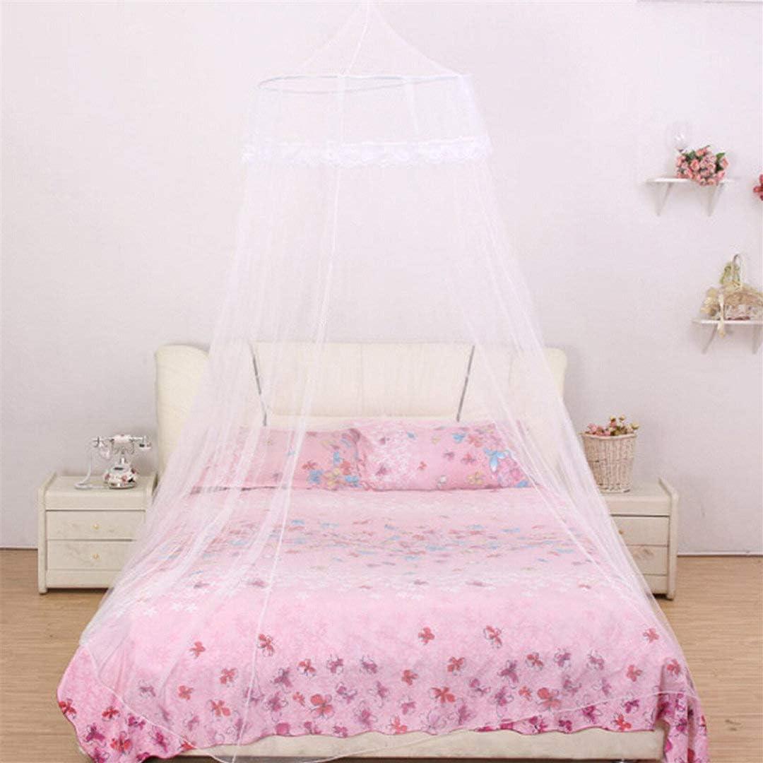 Moustiquaire Ciel Fantaisie Protection Anti-Insectes Blanc Moustiquaire Ciel Lit Bebe Enfant Fille Garcon Simple Double