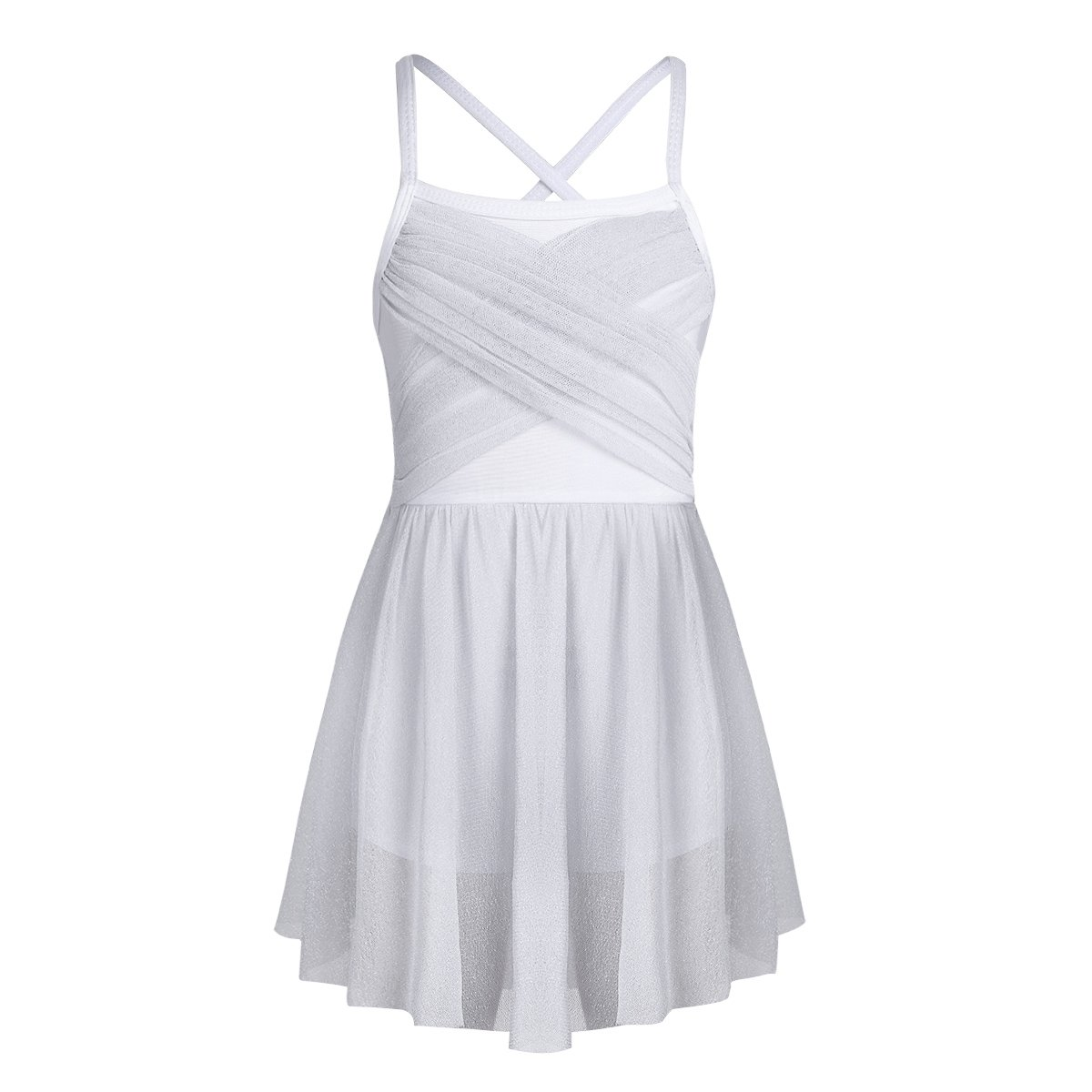 YiZYiF ホワイト DRESS ガールズ B07DVR34V7 ホワイト 8 B07DVR34V7 8, vivaストアー:97b2cff0 --- ijpba.info