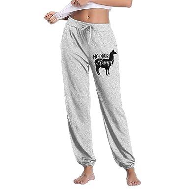 FShopNow Pantalones de chándal para Mujer Womens No Prob-Llama ...