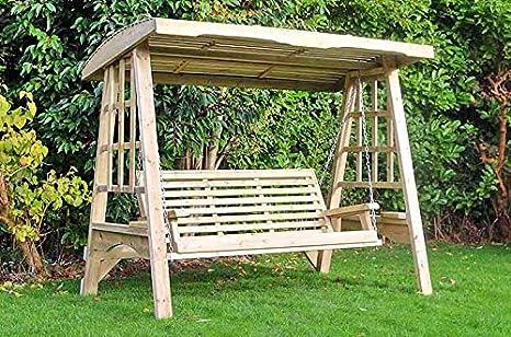 Dondolo Da Giardino In Legno : Churnet valley garden furniture dondolo da giardino altalena da