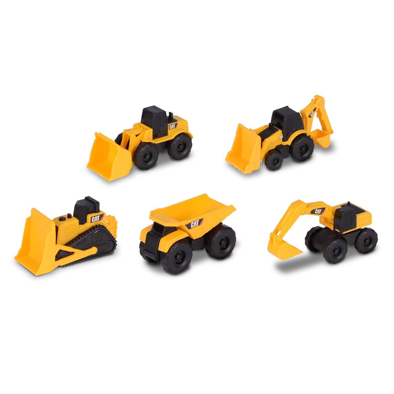 Toy State Disney Cat Vehículo de Obras Públicas y Construcción Color Amarillo 8.9 x 3.8 x