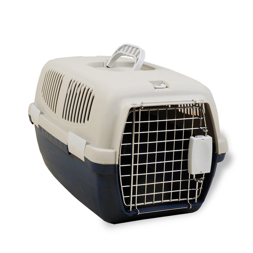 Love pet Air Box per Animali Domestici Cat Auto Portatile Valigia Gabbia per Cani Cane di Medie Dimensioni Fuori dal Bagaglio per Il Check-in dell'aeromobile (colore   Bianca, Dimensioni   M)