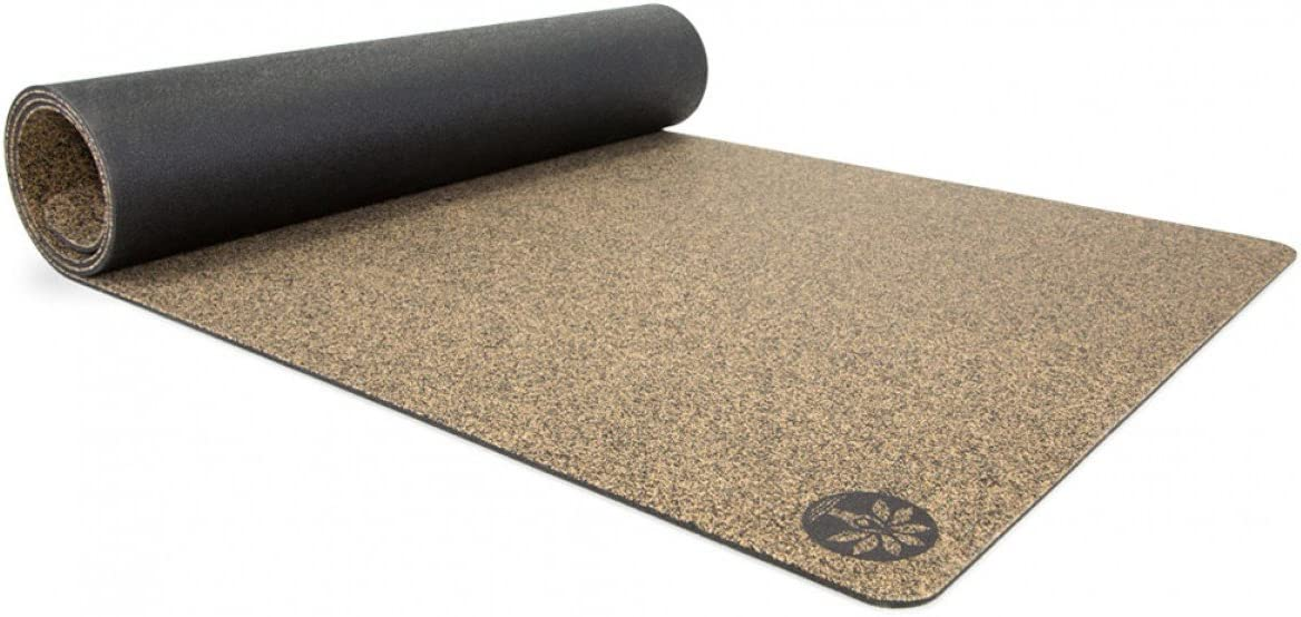 Yoloha Cork Yoga Mat Native Cork Yoga Mat, Non Slip, Sustainable, Soft, Durable, Premium, Handmade, Moisture Resistant Available in Multiple Lengths – 5mm Thick