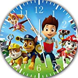 "Best IkEA clock - PAW Patrol Wall Clock 10"" Nice Gift Review"