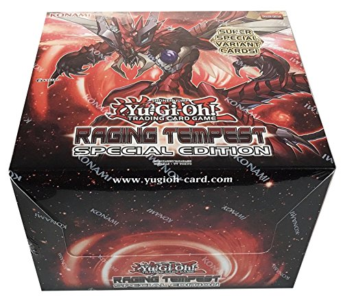 Special Edition Display (YUGIOH - Raging Tempest SPECIAL EDITION DISPLAY BOX SEALED- 10 decks)