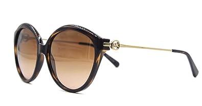 035c839e1cd9 Image Unavailable. Image not available for. Color: Michael Kors Mykonos  Sunglasses MK6005 300613 Dk Tortoise Brown Gradient 58 16 140