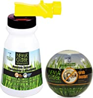 Nema Globe 4003603 20 Million Beneficial Nematodes-Grub Buster and Sprayer-No Refrigeration Required