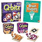 MindWare's Q-bitz Collection: Set of 3 with BONUS Brainteaser Book
