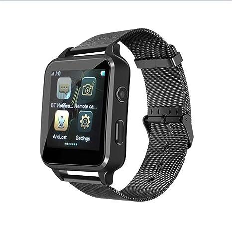 ZLOPV Pulsera smartwatch 2g sim Men Relojes con Bluetooth Horas de ...