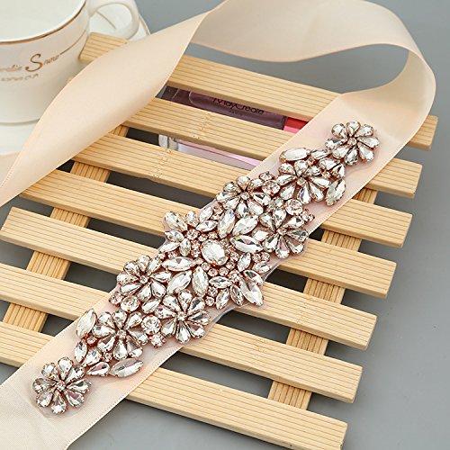 embellished belts for bridesmaid dresses - 6