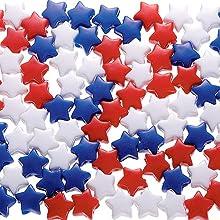 Patriotic Crafting - Star Pony Beads