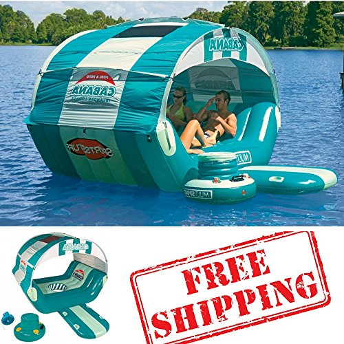 Inflatable Floating Island For The Lake And Floating 16-Q...