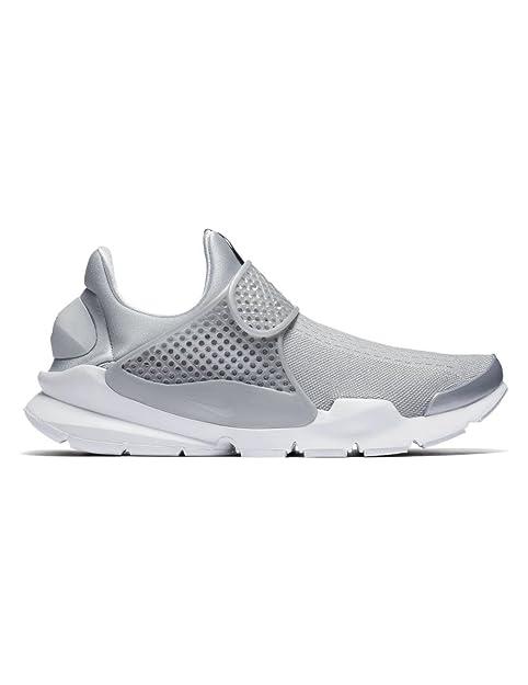 the best attitude 8fdab 20ebe Nike, Uomo, Sock Dart Premium, Tessuto tecnico, Sneakers, Grigio, 40 ...