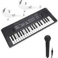 Teclado Electrónico portátil con 37 teclas Iluminadas Teclado de Piano Juguetes Musicales Educativos Grabación de…