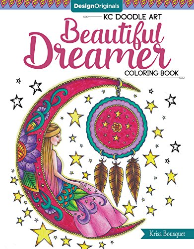 KC Doodle Art Beautiful Dreamer Coloring Book