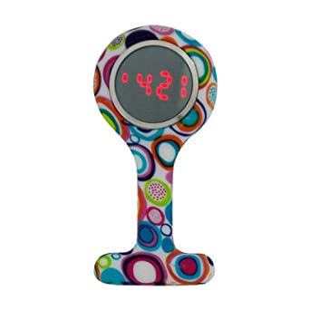 Boxx Led Digital Display Funky Circle Design Silicone Nurses ...
