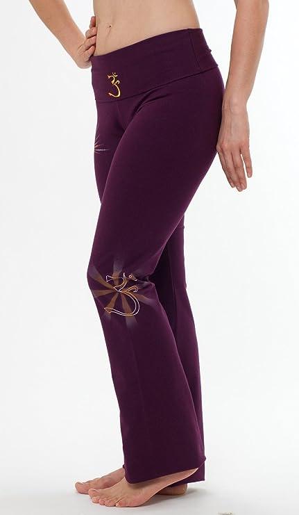 para Mujer Artistic Yoga Pants-Hand Pintado máquina Washable ...