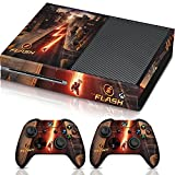Controller Gear The Flash City Streets - Xbox One Combo Skin Set for Console and Controller