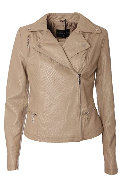 Orice Style - Chaqueta - Blusa - para mujer beige Medium